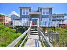 Brunswick Islands rental: A Star On the Sea - Oceanfront 4 bedroomshouse in Oak Island,