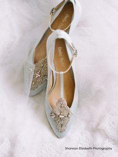 comfortable wedding shoe low heel vintage inspired crystal embellished silk satin kitten something blue