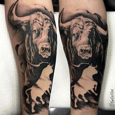 awesome Top 100 taurus tattoos - http://4develop.com.ua/top-100-taurus-tattoos/ Check more at http://4develop.com.ua/top-100-taurus-tattoos/