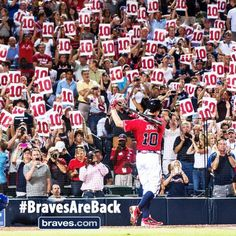 The one and only Chipper Jones wants to remind you that we are only 10 days away from Opening Day at Turner Field!