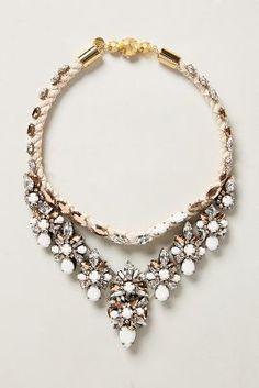 Shourouk Rose Heath Bib #Necklace #anthrofave #sale