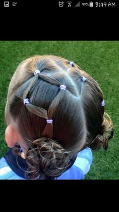 trendy hairstyles for school girls hairdos Little Girl Hairdos, Girls Hairdos, Lil Girl Hairstyles, Princess Hairstyles, Hairstyles For School, Braided Hairstyles, Kids Hairstyle, Toddler Hairstyles, Hairstyle Names