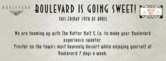 The Boulevard and The Batter Half & Co are giving you a treat this Friday.
