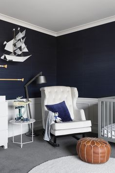 Nursery Blue and White Nurseries Nautical Theme