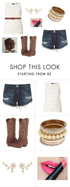 """Cowgirl Liv'in"" by cute-outfits25 on Polyvore featuring 3x1, Dorothy Perkins, Durango and Fiebiger"
