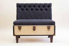 ideas for Old Suitcase Vintage Luggage | Vintage Suitcase Furniture
