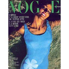 Instagram media by worlds_moda - #Vogue #Paris, June 1964. By Helmut Newton  #vogueparis #voguecover