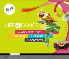 Template 43212 - Dance HTML5 Website Template