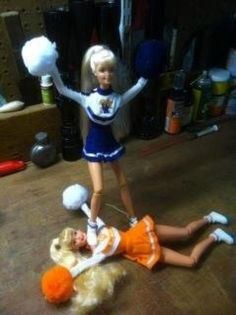 Barbie stompdown! Sorry but TN should be on top.