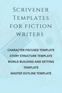 Master Outline Scrivener Template  Outlines And Writing Outline