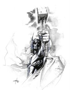 Thor by Gabriele Dell'Otto