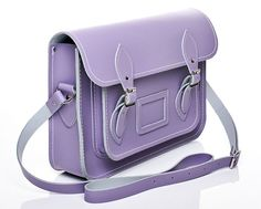 Ladies Pastel Purple Fashion satche #ghdpastelcollection #ghd #goodhairday