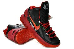 Hot Nike Zoom KD 4(IV) Kevin Durant Shoes N7 Black White   Fav shoes    Pinterest   Kevin durant shoes, Durant shoes and Nike zoom