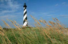 Cape Hatteras Lighthouse, Outer Banks, N.C. (© Raymond Gehman/Corbis) 1 of 5 Lighthouses worth a climb this summer! via MSN.com