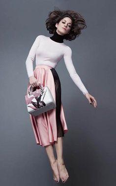マリオン・コティヤール - これぞレディ!Lady Dior Newフォト   海外セレブファッションスナップ CELEB SNAP