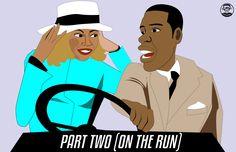 """Beyonce & Jay-Z """"Part 2"""" - Garry Atkinson"""