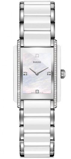 Rado Watch Integral Sm #bezel-fixed #bracelet-strap-ceramic #brand-rado…