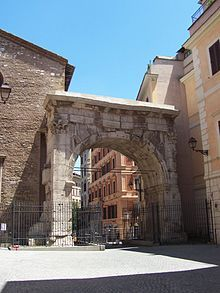 Arch of Gallienus - Wikipedia