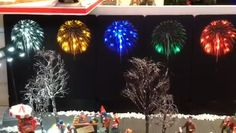 Available in 5 colours: Yellow: Green: Red: Blue: Bright White: White Fireworks, Yellow, Blue, Backdrops, Christmas Tree, Colours, Bright, Holiday Decor, Green
