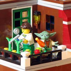Cultiva't al balcó. #HuertoUrbano Lego, Get A Life, Legos