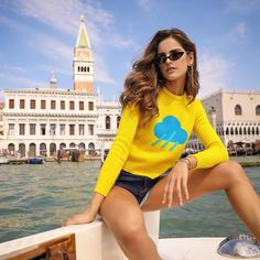 Today's weather forecas Izabel Goulart, Spring Is Here, Weather Forecast, Sunnies, Rain, Photo And Video, Summer, Sweaters, Beauty