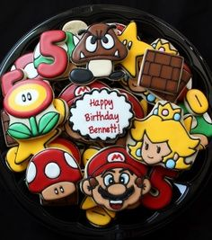 Galletas de Mario Bros