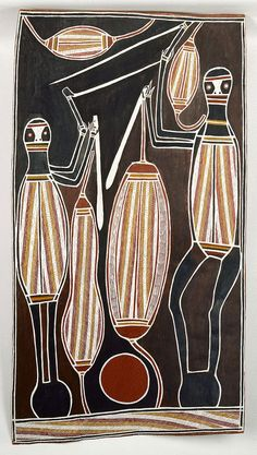 David Malangi Daymirringu ~ Two Gunmirringu Fighting, 1987