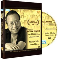 Buy Documentary Movies DVD of Pancham Unmixed : Mujhe Chalte Jaana Hai in Hindi on Infibeam with the lowest price in India. Pancham Unmixed is a film by Brahamanand S. Siingh. Also get benefits of free shipping within 24 hours and cod is available in anywhere of India.