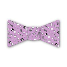 Computer Blues Pink Bow Tie