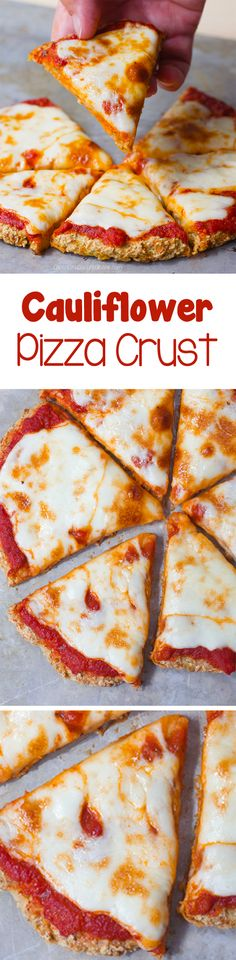 This is the BEST cauliflower pizza crust recipe I've found, and it just so happens to be vegan!