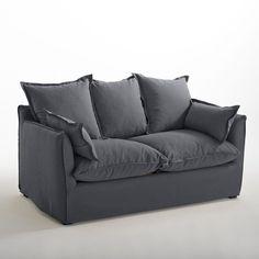 Canapé en coton/lin, odna, bultex La Redoute Interieurs | La Redoute