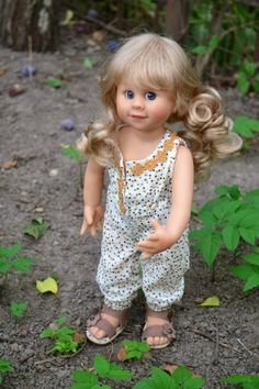Нашествие на волшебный сад. Вихтелята Rosemarie Anna Muller / Коллекционные куклы Rosemarie Anna Muller / Бэйбики. Куклы фото. Одежда для кукол