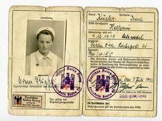 DRK - Rotes Kreuz - Wehrmacht - Personalausweis 1942 Helferin Berlin