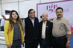 Shantibhai Patel President GJTCI at RAJKOT JEWELLERY SHOW