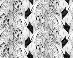 ..leafs.. original illustration by Anna Dyczka