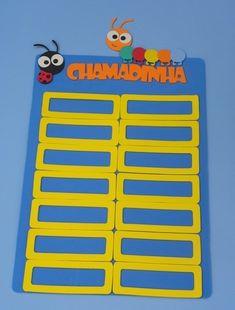 painel de chamadinha para educação infantil - 28 nomes www.petilola.com.br