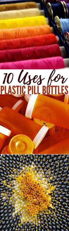 Repurposing is beneficial for everyone, as it's a great way to save money while being environmentally conscious Prescription Bottles, Pill Bottles, Medicine Bottles, Uses For Plastic Bottles, Recycled Bottles, Pill Bottle Crafts, Emergency Preparation, Emergency Preparedness, Diy Recycle