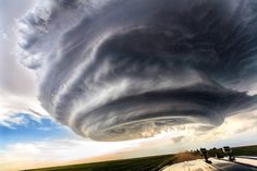 Clouds in the sky of the USA