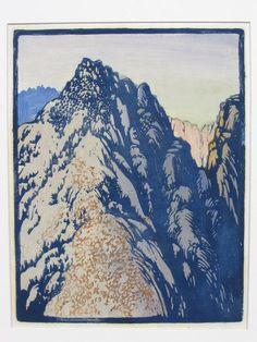Frances H. Gearhart | DESERT BARRIER |1933 | unsigned