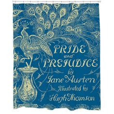 Pride and Prejudice Shower Curtain - Overstock™ Shopping - The Best Prices on Bath Decor