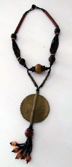 Handmade African Necklace African Necklace, Handmade Jewelry, Handmade Jewellery, Craft Jewelry, Handcrafted Jewelry