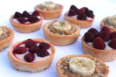 French tartelettes - recipe on the blog.