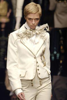 dolce and gabbana, fall 2006, napoleonic, period clothing, military uniform, 1800s, 18th century, 1700s, 19th century, fashion