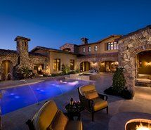 Luxury Homes With Pools just the way i love it!! very ancient design, that incorporates an