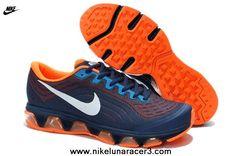 df60ee924a0 Ocean Blue Orange Nike Air Max Tailwind 6 Mens Shoes 2013 Free Shoes New  Nike Air
