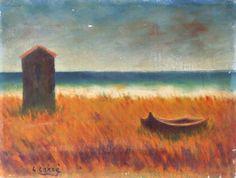 Carlo Carrà - Spiaggia