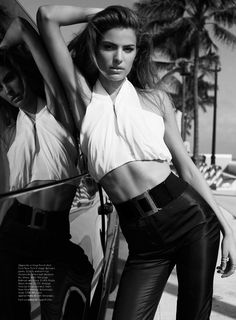 Cameron Russell Has Miami Heat for Vogue Australia February 2013 by Benny Horne