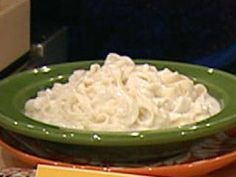 Shiritaki noodles with laughing cow alfredo sauce. Just add chicken and you have healthy Chicken Fettucine!