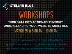 Interested in growing your website through the analytics? Join us for our website #analytics workshop in #Neenah and turn your data into actionable insight!