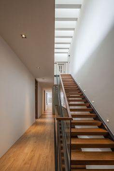 Sunny Side House by Wallflower Architecture   Design love the open stairs w/ sky lights